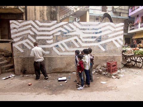 St+Art Delhi, 2014 :: Street Art festival :: Week 1