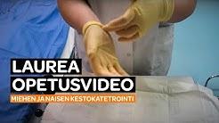 Toiminnallinen opinnäytetyö: Opetusvideo miehen ja naisen kestokatetroinnista