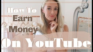 HOW TO GROW YOUR YOUTUBE CHANNEL // & How Much Money I Make Online // Fashion Mumblr