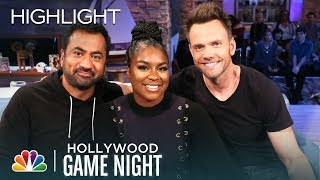 Joel McHale and More Play Get in My Pants - Hollywood Game Night (Episode Highlight)