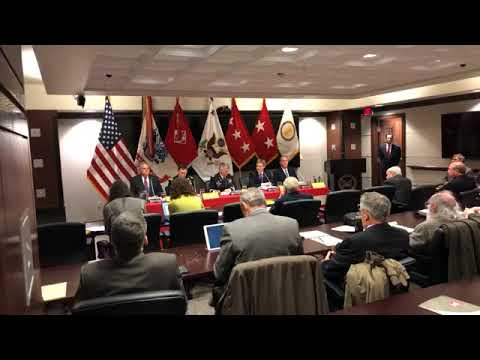 Press Conference: President's Fiscal 2019 Budget for USACE Civil Works