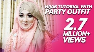 Most Requested Hijab Tutorial with Party Outfit | Pari ZaaD ❤