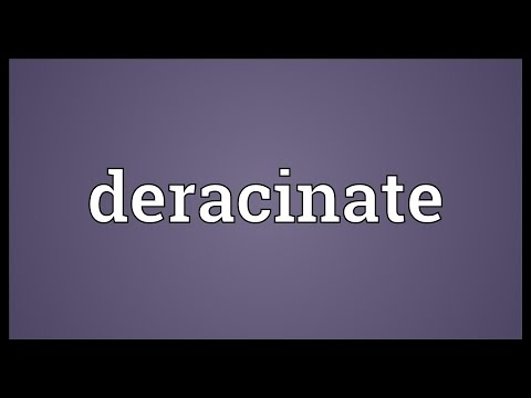 Header of deracinate