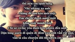 [karaoke beat] Mau nước mắt - Tiểu Song Ngư