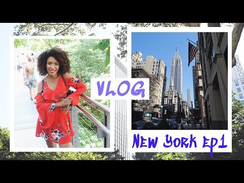 NEW YORK • VLOG 1/3 : On réalise notre rêve pendant 1 semaine & Crush à Soho // Beautiful Naturelle