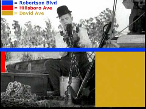 filming location towed in a hole 1932 laurel and hardy. Black Bedroom Furniture Sets. Home Design Ideas