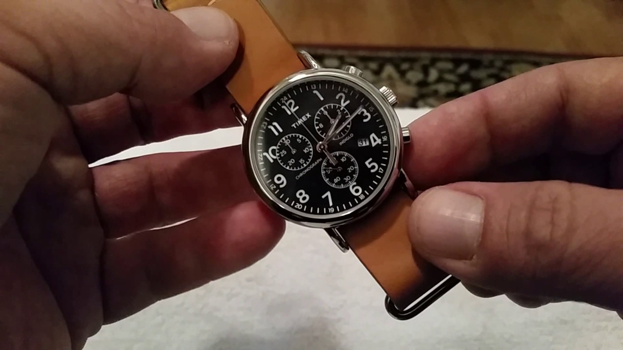 4c5ebc936784 Timex Weekender Chronograph Review- 40 mm Budget Chrono. Offering from Timex  - YouTube