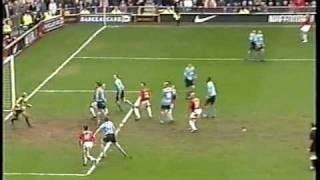 man united v man city fa cup 5th round february 2004