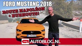 Ford Mustang (2018) rijtest