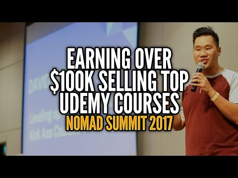 Earning $250,000 Creating the #1 Business Course on Udemy - David Dang Vu