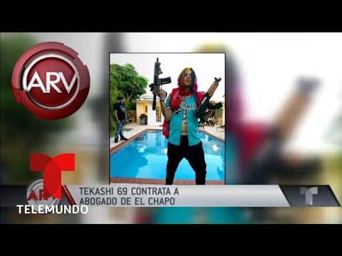 Tekashi 6ix9ine contrató al mismo abogado de El Chapo | Al Rojo Vivo | Telemundo