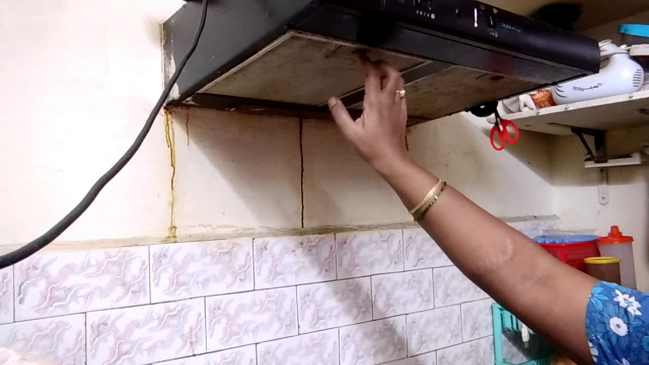 Kitchen Chimney Cleaning Part 1 Tamil Youtube