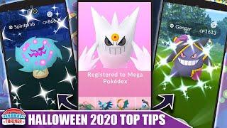 BEST EVENT OF 2020! TOP 5 TIPS *HALLOWEEN* EVENT - SHINY SPIRITOMB, MEGA GENGAR & QUEST   Pokémon GO