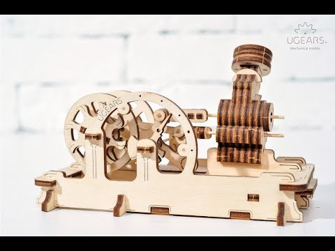 Model Pneumatic engine