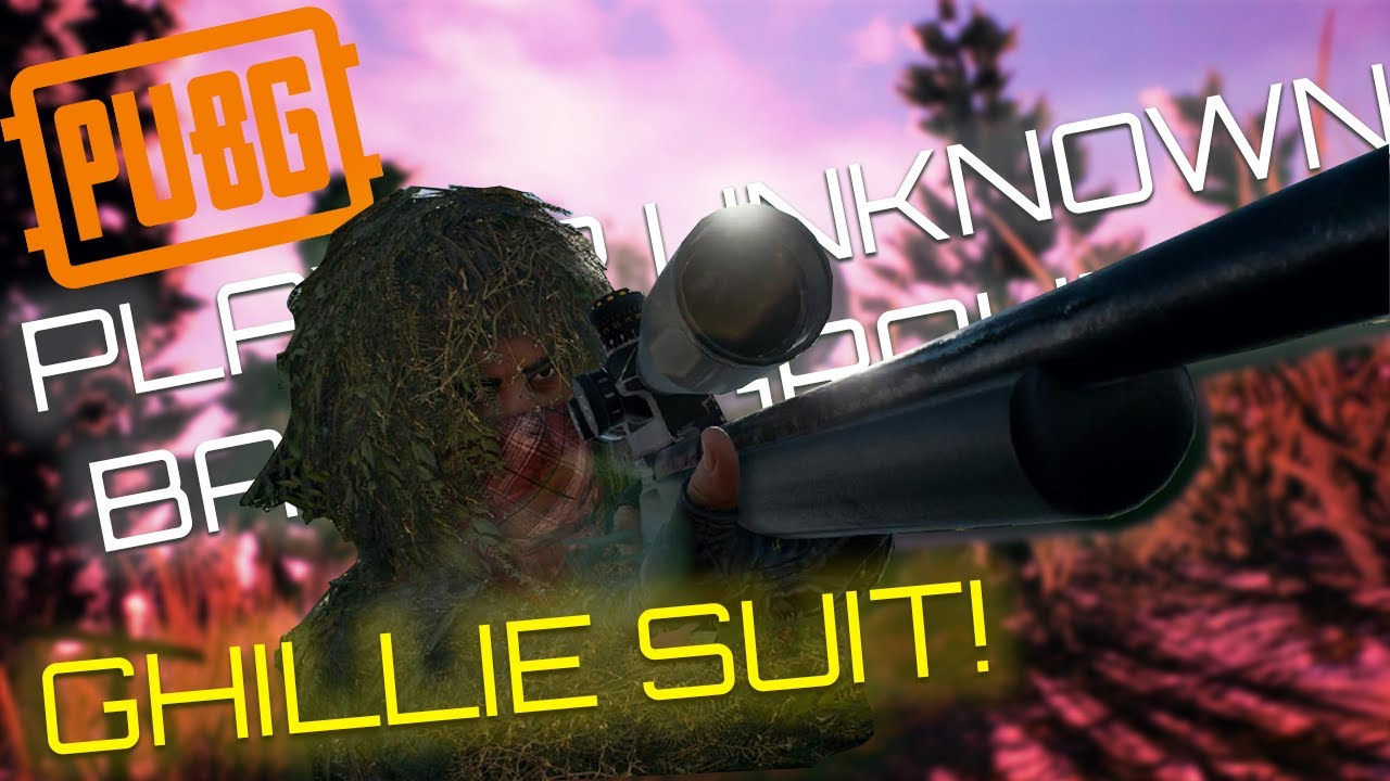 Ep. 2 - GHILLIE SUIT! - PLAYER UNKNOWN BATTLE GROUNDS ...