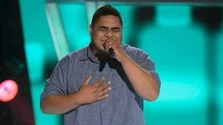 Sione Felila Sings You To Me Are Everything: The Voice Australia Season 2