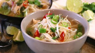 Chicken Pho Made Fast and Easy