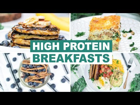 5 High Protein Breakfast Recipes for Weight Loss | Healthy Breakfast Ideas