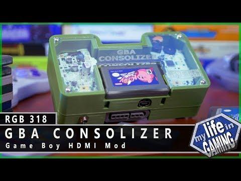 GBA Consolizer - Game Boy HDMI Mod :: RGB318 / MY LIFE IN GAMING