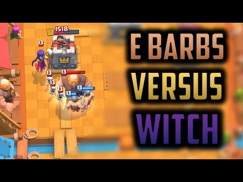 IS WITCH WORSE THAN ELITE BARBARIANS!? - Episode 10 - Clash Royale Ladder Pushing Series
