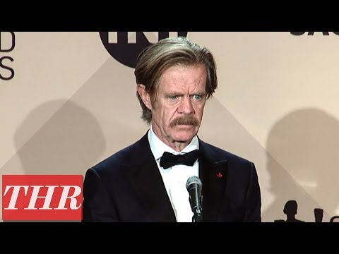 William H. Macy on MeToo, Equal Pay, & Sexual Harassment in Hollywood  SAG Awards 2018