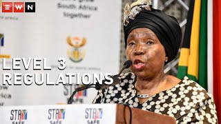 Cooperative Governance and Traditional Affairs Minister Nkosazana Dlamini-Zuma has urged all funerals to be conducted in under two hours in order to limit COVID-19 infections, as President Ramaphosa moved the country back to alert level 3. Dlamini-Zuma was speaking during an address by the National Coronavirus Command Council on Tuesday.  #COVID19 #Lockdown #Level3