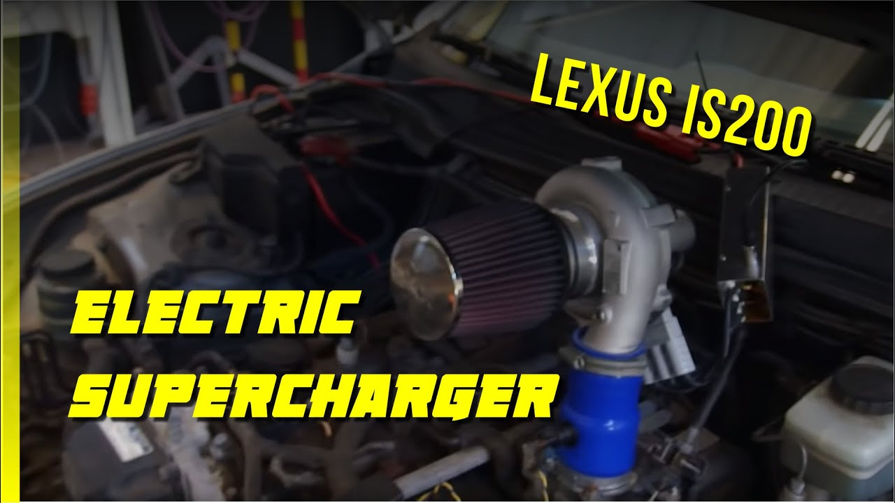 Dyno Testing Electric Supercharger On Lexus Is200 Torqamp