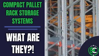 Compact Pallet Rack Storage Systems | 🚚 Compact Pallet Racking Services 🚚 | Pallet Racking Suppliers