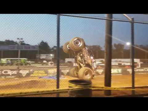 Monster Jam Free Style At Hagerstown Speedway 2019