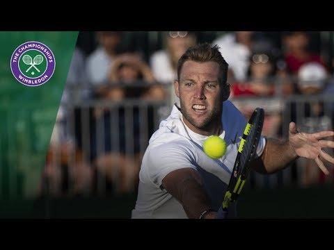 Jack Sock's stunning doubles play at Wimbledon