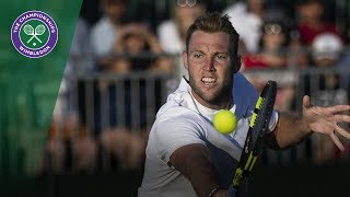Jack Sock's stunning doubles play at Wimbledon