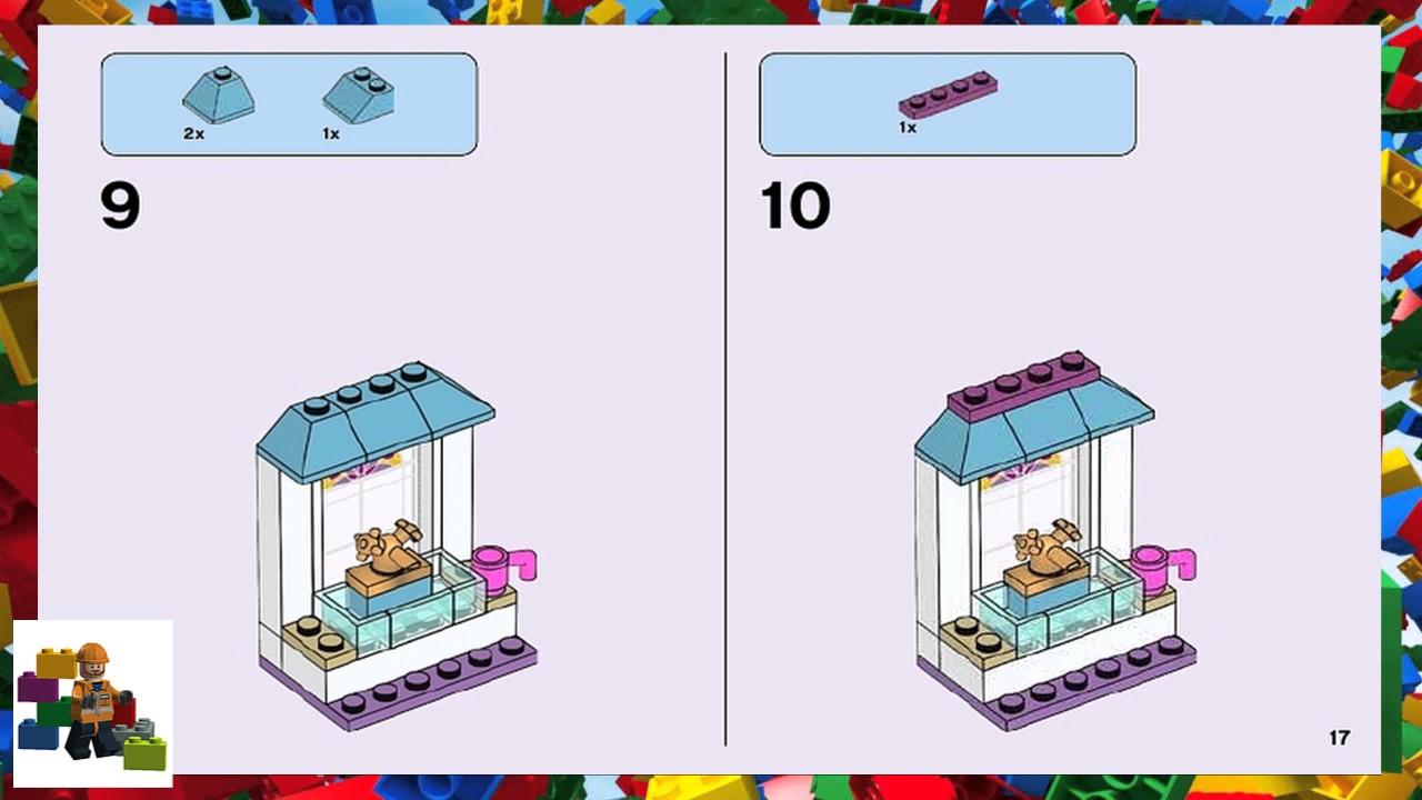 Lego Instructions Friends 41308 Stephanies Friendship Cakes