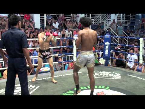 Yusuf Karakaya (Tiger Muay Thai) vs Dr Fu (CherngTalay Muay Thai) @ Bangla Boxing Stadium 19/3/2014