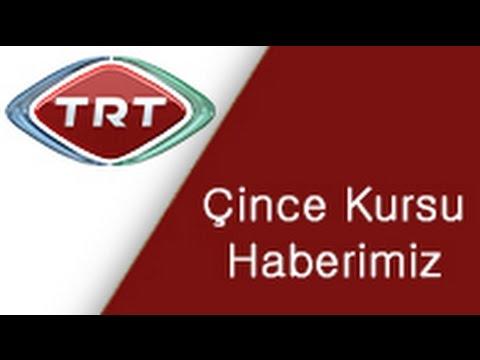 Çince Kurslarımız TRTde haber oldu