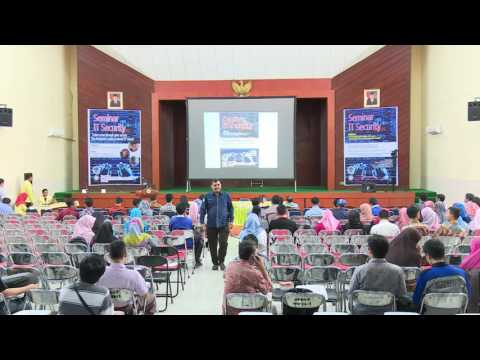 Seminar IT Security EC Council di Universitas Negeri Padang - 30 Agustus 2016
