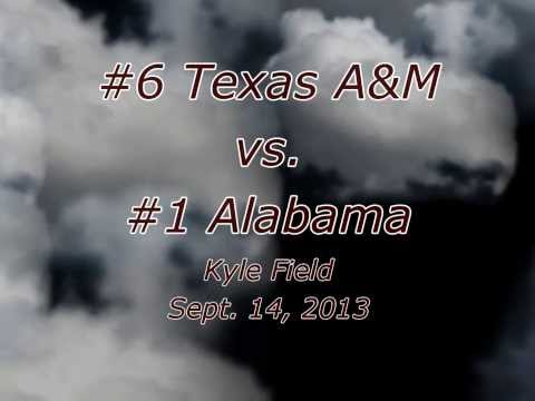 We Will Not Be Stopped: A&M vs. Alabama 2013