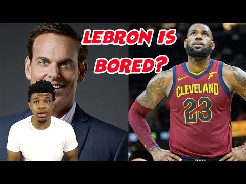 COLIN COWHERD SAID LEBRON JAMES IS 'SO BORED THAT HE'S TOYING WITH US' (REACTION)