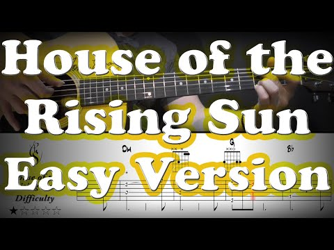 House of the rising sun - Acoustic Guitar Tutorial