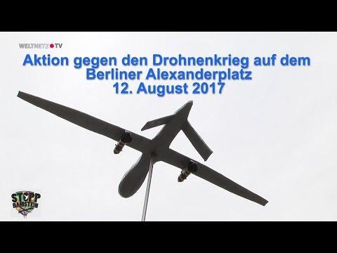 Stopp Air Base Ramstein: Flashmob gegen den Drohnenkrieg