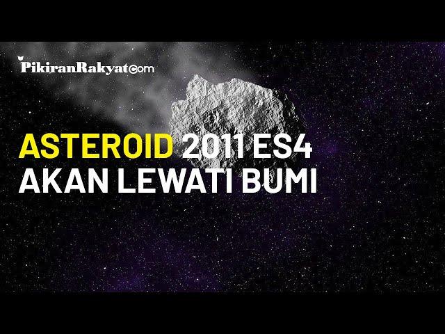 NASA: Asteroid dengan Kecepatan 8,16 Km per Detik akan Melewati Bumi pada 1 September 2020