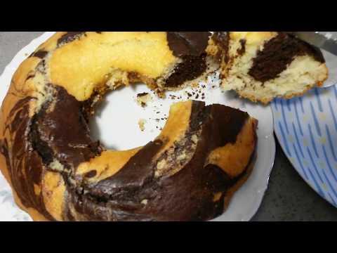 cake-marbré,-recette-facile-et-économique.-كيك،-وصفة-سهلة-واقتصادية