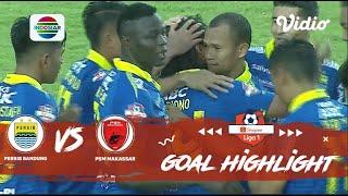 Persib Bandung (5) vs (2) PSM Makassar - Goal Highlights | Shopee Liga 1