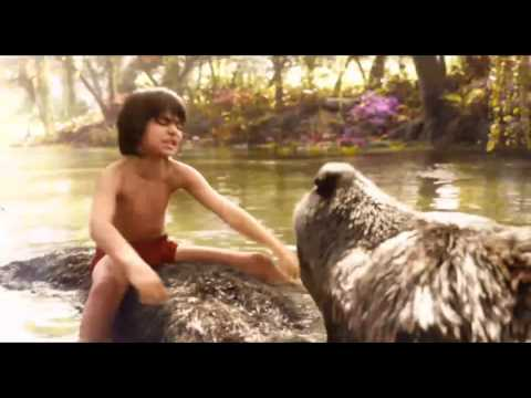 The Jungle Book movie - The Bare Necessities scene