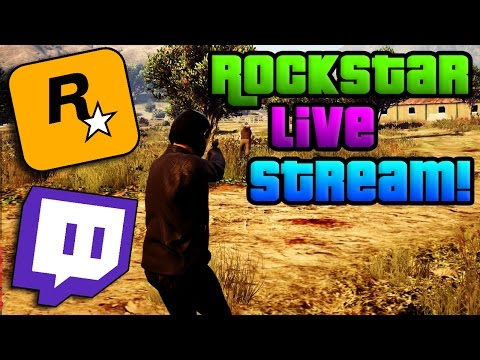 GTA Online: I Featured on the Rockstar Games Livestream! - GTA 5 Online Throwback Jobs (PS4 GTA 5)