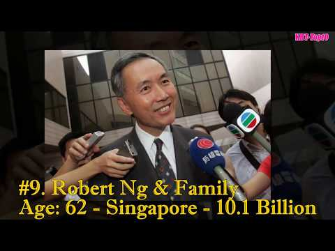 Top Richest People in South East Asian