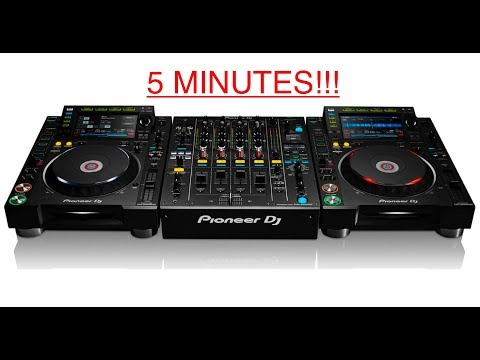 LEARN HOW TO DJ IN 5 MINUTES!!!