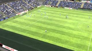Brescia - Novara - Gol di García 13° minuto