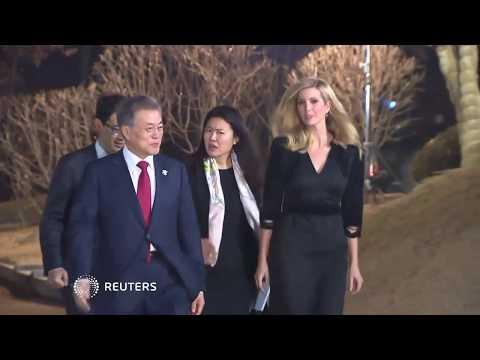 Ivanka Trump meets South Korean President Moon Jae-in