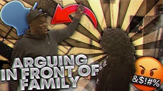 Arguing with DuB in front of his family | Things get heated