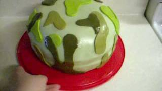 Army Cake 03-21-2010